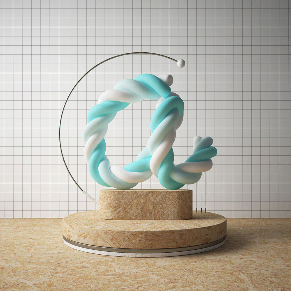 36 days of type a 3d type